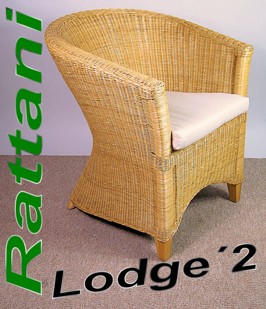 Rattansessel Clubsessel Lodge`1