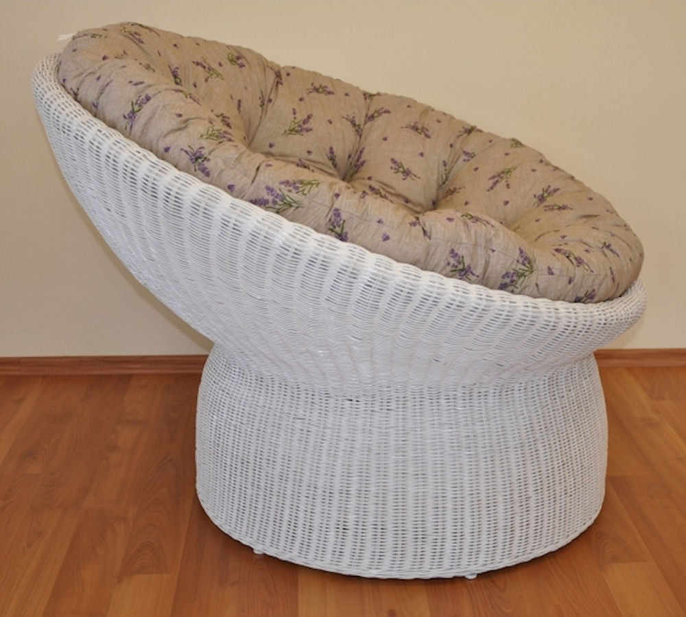 xxl rattansessel rattan papasan sessel inkl hochwertigen polster d 110 cm fb. Black Bedroom Furniture Sets. Home Design Ideas