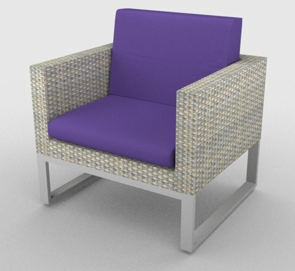 kissen polster f r pe rattanm bel sanremo sitz r cken stoff 457. Black Bedroom Furniture Sets. Home Design Ideas