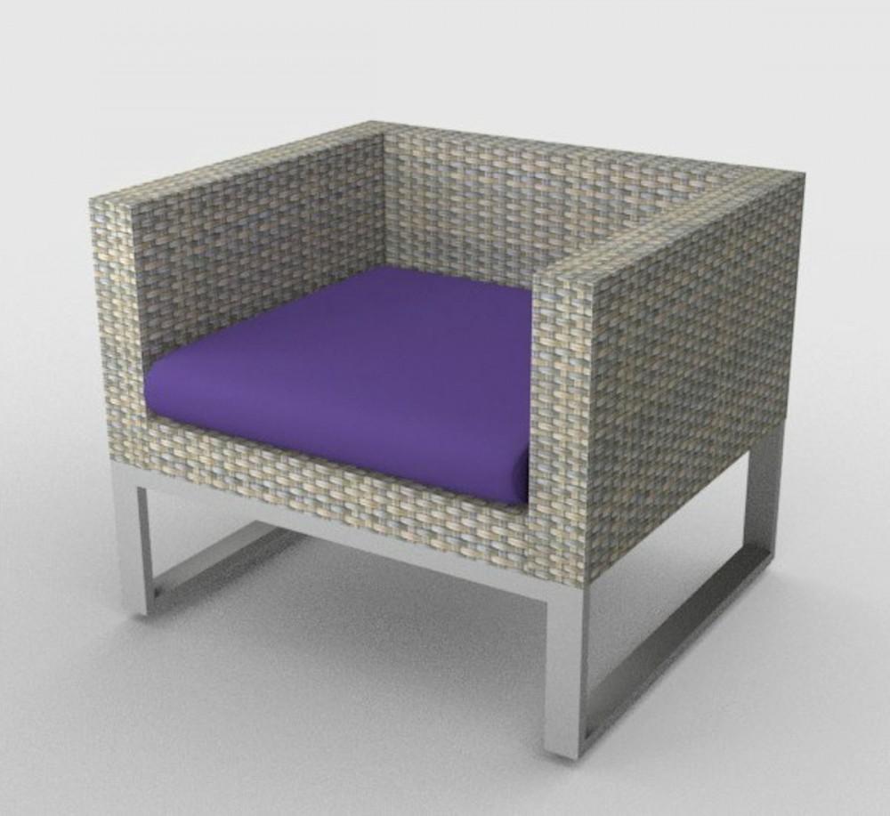 kissen polster f r pe rattanm bel sanremo sitz stoff 457. Black Bedroom Furniture Sets. Home Design Ideas