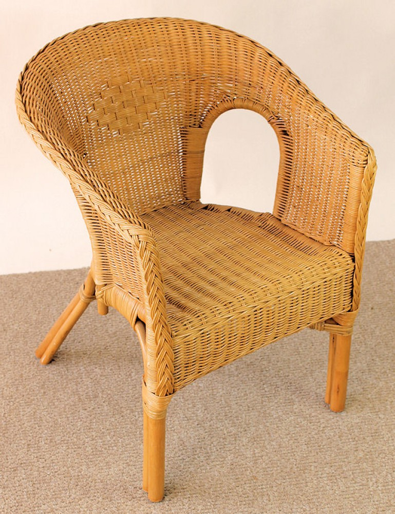 rattansessel lisa honigfarben. Black Bedroom Furniture Sets. Home Design Ideas