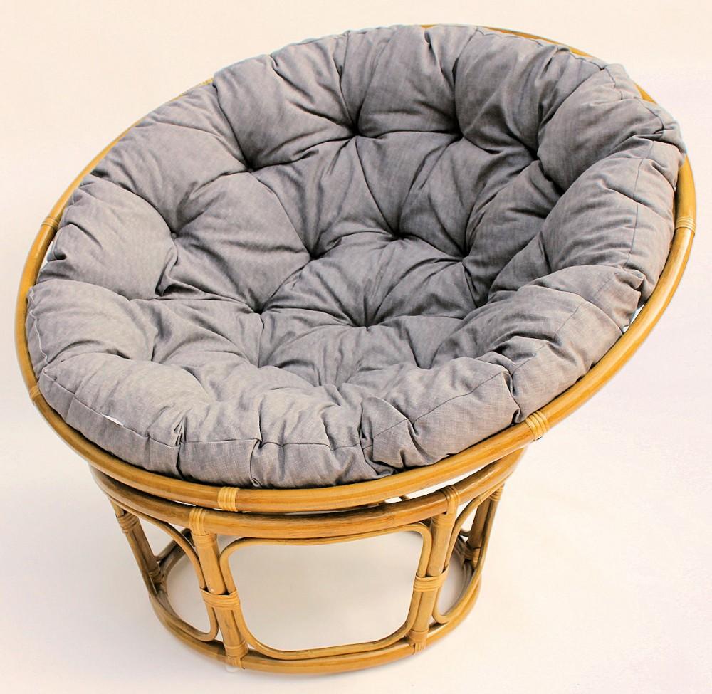 rattan papasansessel durchmesser 110 cm fb honig polster uni living 377. Black Bedroom Furniture Sets. Home Design Ideas