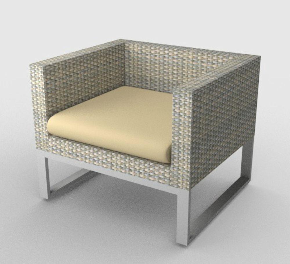 kissen polster f r pe rattanm bel sanremo sitz stoff 394. Black Bedroom Furniture Sets. Home Design Ideas