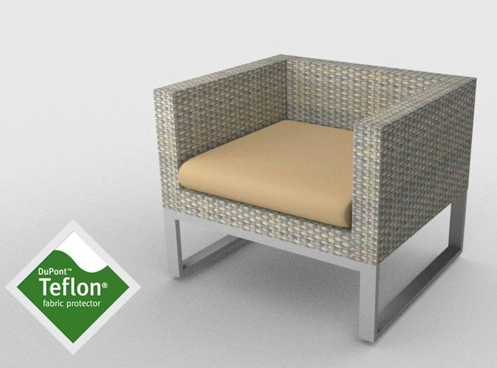 kissen polster f r pe rattanm bel sanremo sitz stoff 488 teflon beschichtung. Black Bedroom Furniture Sets. Home Design Ideas