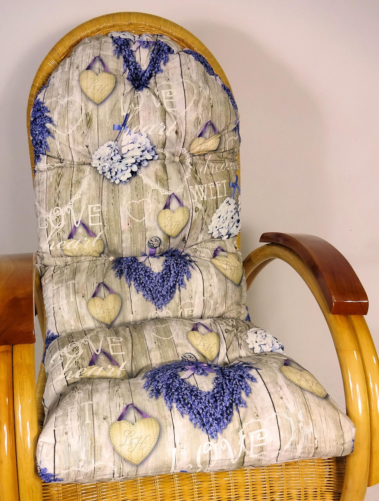 Polster Für Schaukelstuhl : auflage polster f r schaukelstuhl liegestuhl ersatzpolster gr 130 x 50 x 12 ~ Watch28wear.com Haus und Dekorationen