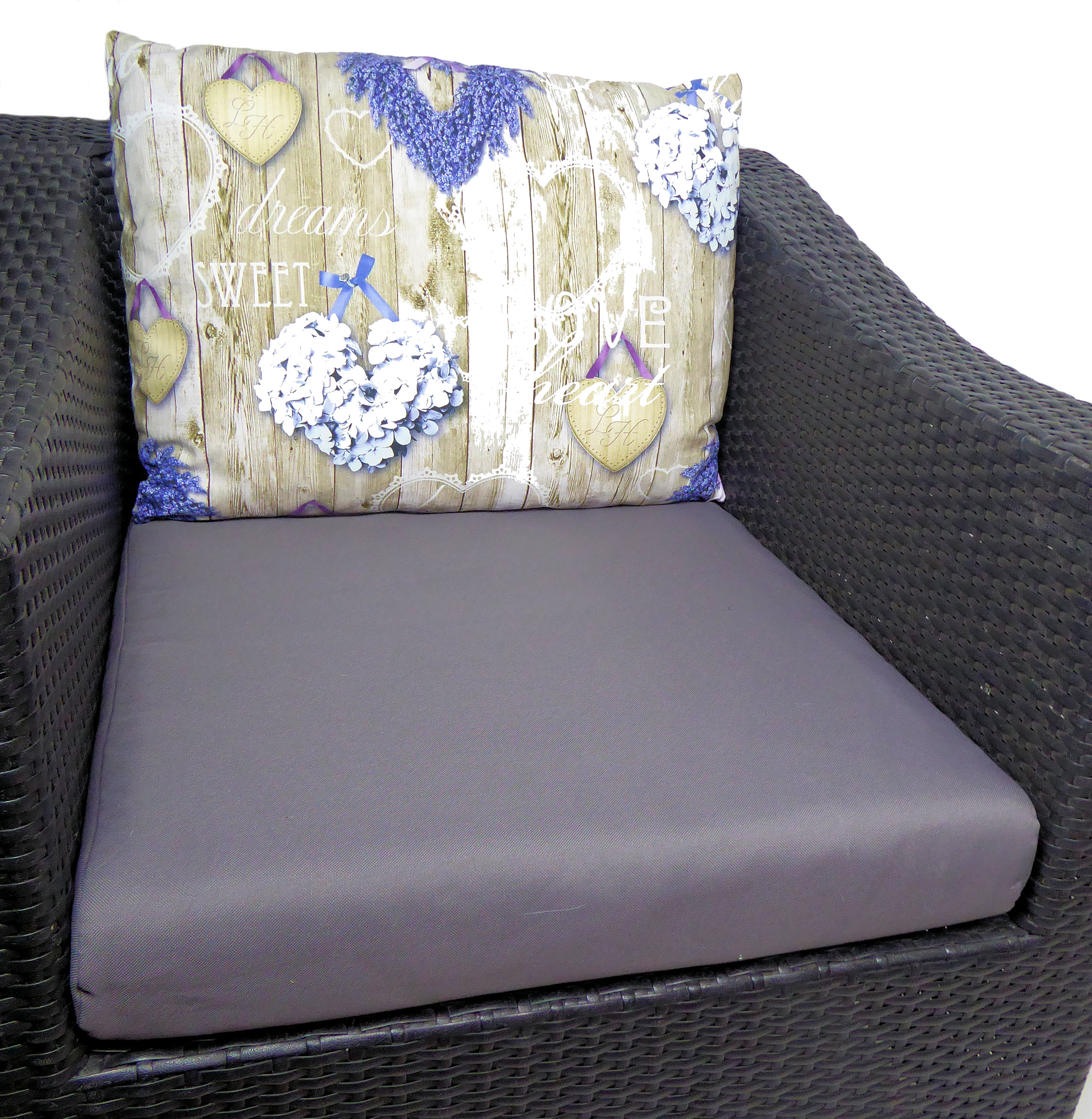 kissen auflage polster ersatzpolster f r pe. Black Bedroom Furniture Sets. Home Design Ideas