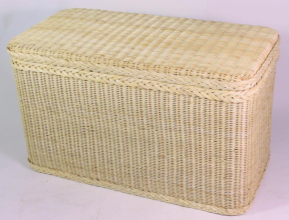 rattan w schetruhe w schekorb 81x41x47 cm fb natur. Black Bedroom Furniture Sets. Home Design Ideas