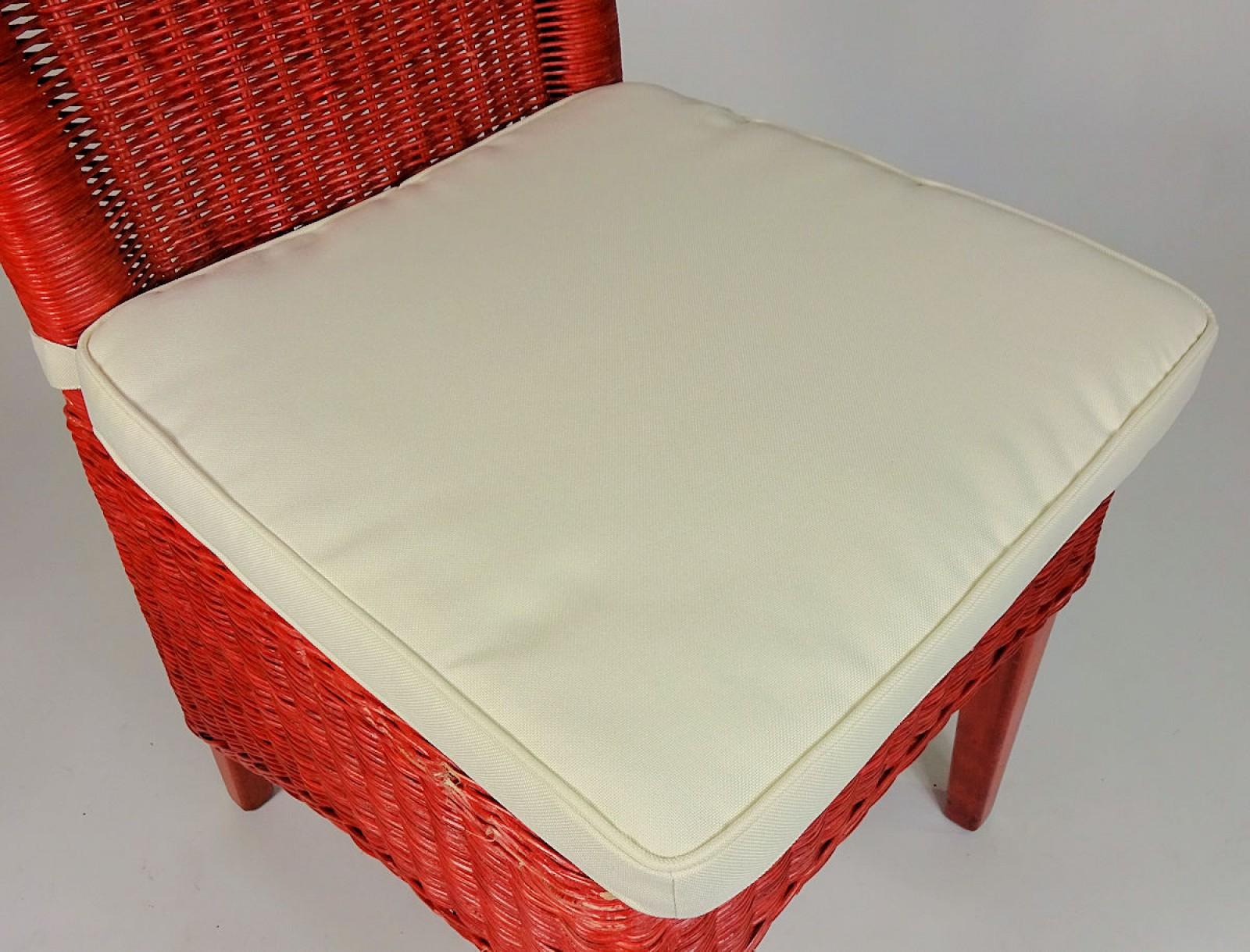 stuhlkissen sitzkissen bonia plus mit schleife 42 x 42 cm fb natur. Black Bedroom Furniture Sets. Home Design Ideas