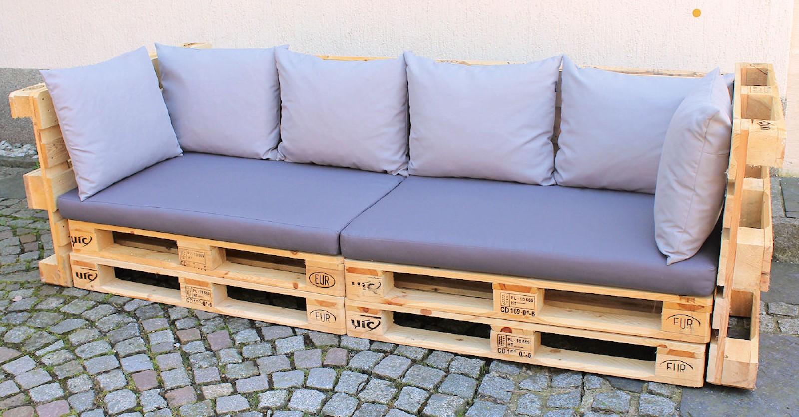 polster f r palettensofa europalette palettenpolster palettenkissen set 8. Black Bedroom Furniture Sets. Home Design Ideas